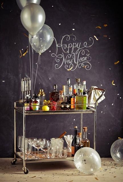 ano novo decoração