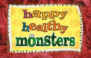 Sesame Street Happy Healthy Monsters first scene.