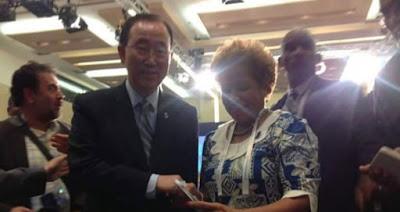 Sekjen PBB Ban Ki-moon Terima Laporan Pelanggaran HAM Papua