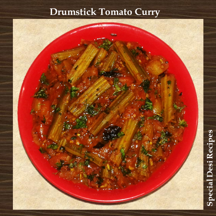drumstick tomato curry special desi recipes