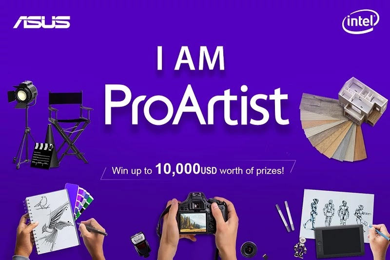 ASUS I Am ProArtist Campaign