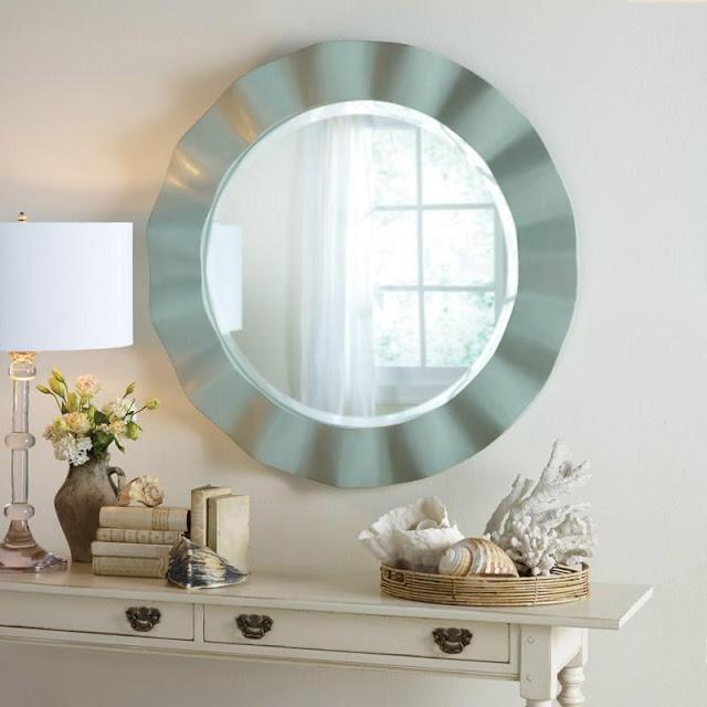Somerset Bay Crescent Beach Mirror