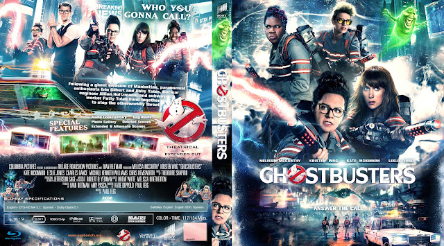 Ghostbusters Bluray Bluray Cover