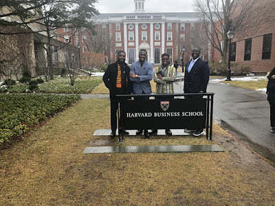 THE YCEO: 2 Ghanaian Entrepreneurs Remind Africans At The Harvard Business, School Of Their Ancestry With A Gift.