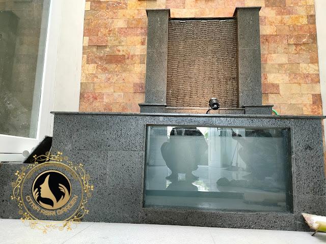 Design kolam koi minimalis