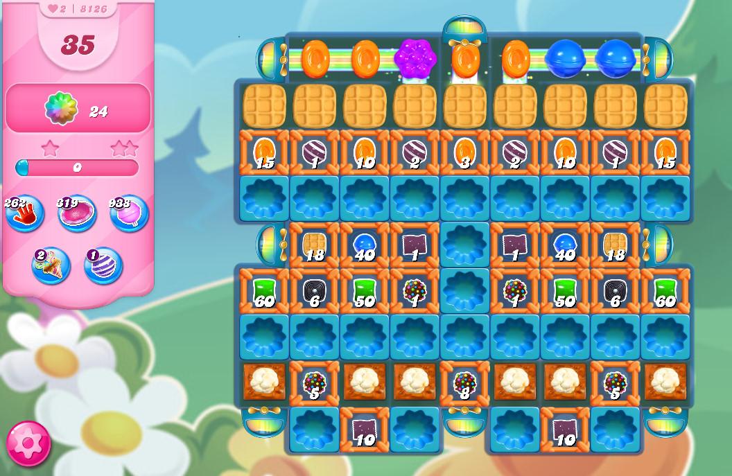 Candy Crush Saga level 8126