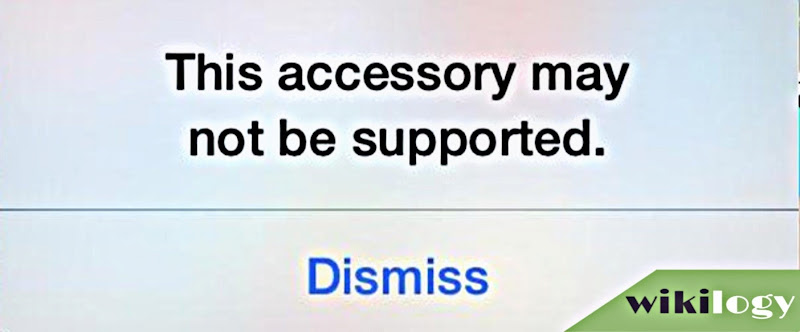 This accessory may not be supported by this iPhone