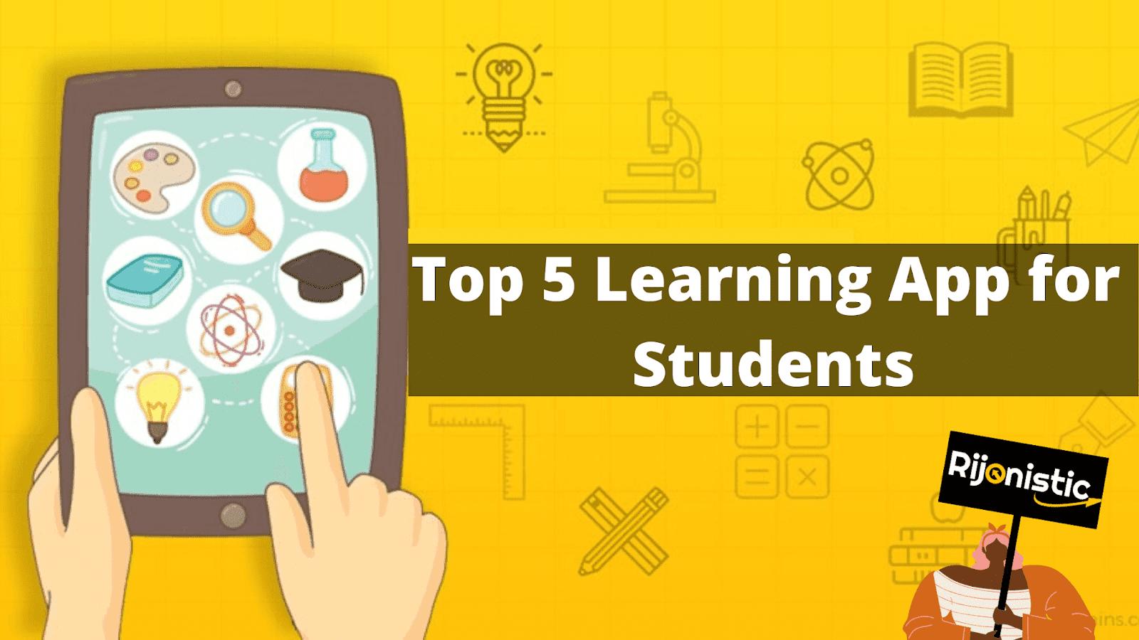 স্টুডেন্টদের জন্য সেরা ৫ টি অ্যাপ, পড়ালেখাকে সহজ করার সেরা অ্যাপ, Khan Academy, Udemy, Best 5 Learning App,