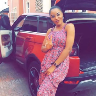 Image result for Photos/Video: Nigerian woman gives a Range Rover EVoque to her husband for believing in her
