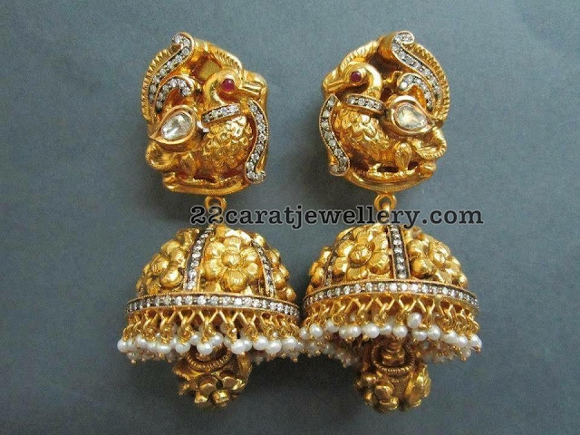 Top 7 Kundan and Antique jhumkas