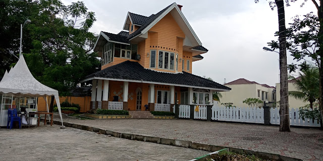 Club House Green Park Jl. STM Kampung Baru Medan Sumatera Utara