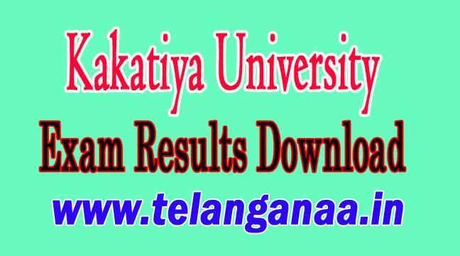 Kakatiya University BBM Annual BBMREV - BBM-MEMO March 2018 Revaluation Results