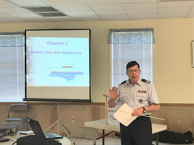 Auxiliarist Chris Malzone explains that the best boater is a prepared boater by making sure you have all necessary items before getting underway.