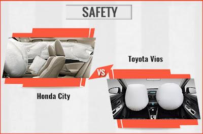So sánh độ an toàn giữa Toyota Vios 2017 và Honda City, tôi biết chọn xe nào ?