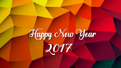 Happy New Year 2017 Greeting Cards Template