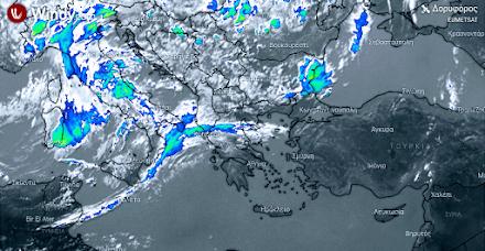 Ισχυρές βροχές αύριο στα δυτικά, κεντρικά και βόρεια - Πτώση της θερμοκρασίας - Αναλυτική πρόγνωση καιρού