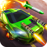 Road Legends - Car Racing Shooting Games For Free Unlimited (Gems - Coins) MOD APK