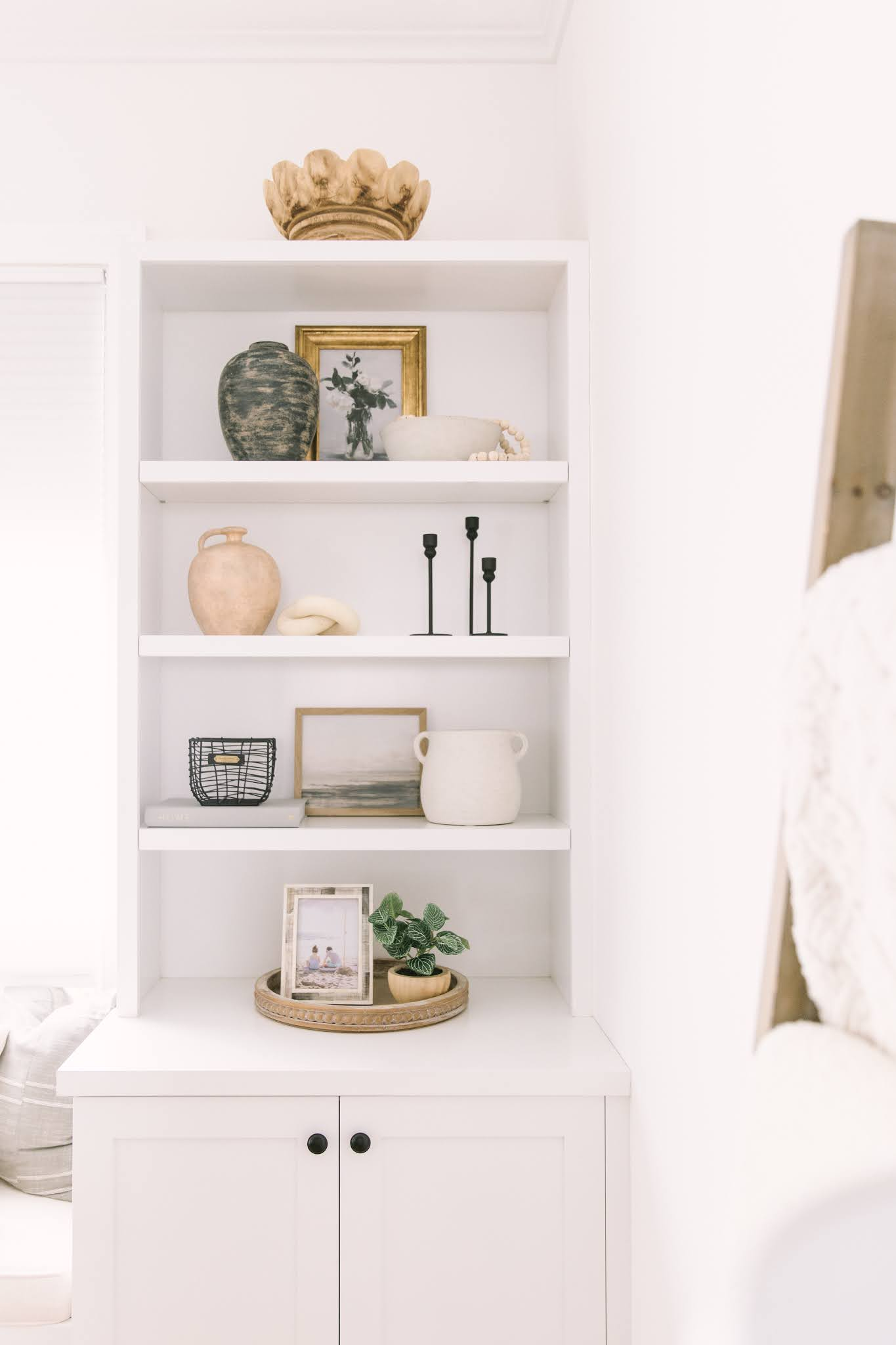shelf styling tips