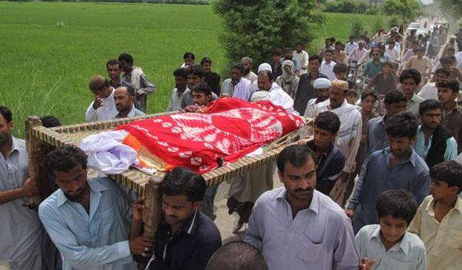 Qandeel Baloch burial