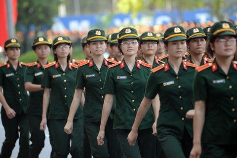 Hơn 12.000 chỉ tiêu vào 21 trường quân đội