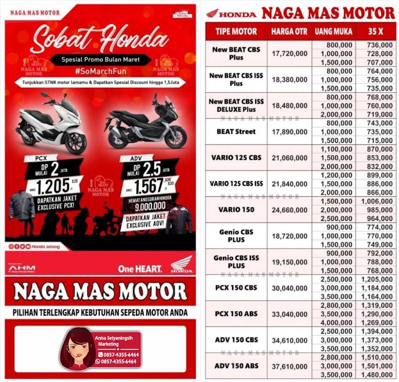Promo Kredit Motor Honda DP Ringan - #SoMarchFun Maret April 2020