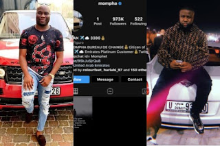Mompha Deletes All His Instagram Posts