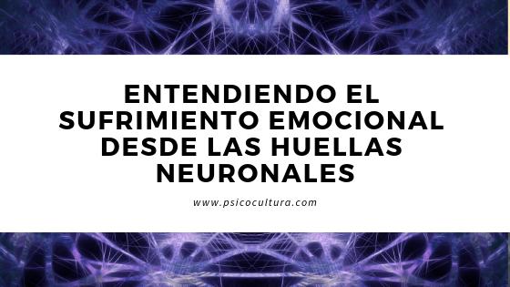 Entendiendo el sufrimiento emocional desde las huellas neuronales
