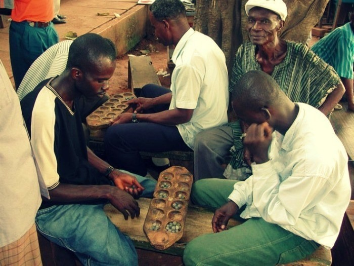 Jogos Matemáticos do Continente Africano: Mancal