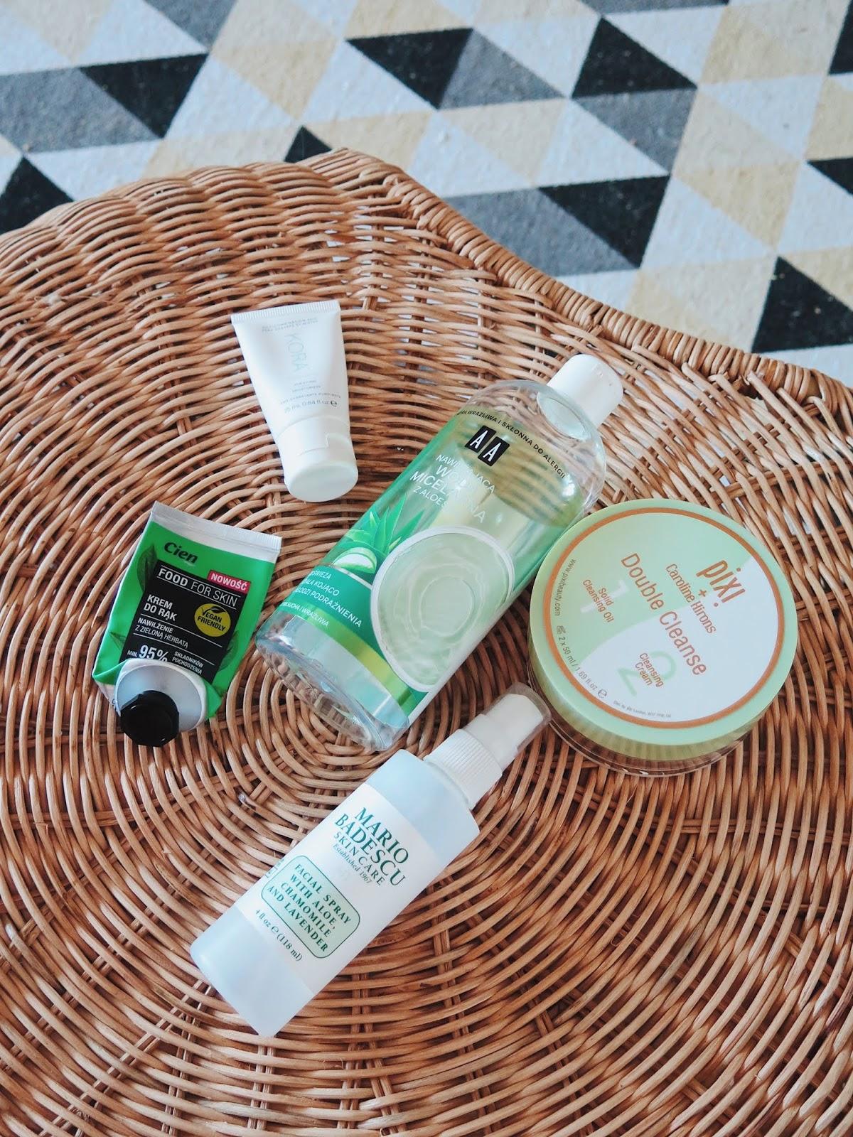 DENKO | Zużycia sierpnia i lipca - Catrice, The Body Shop, Mario Badescu