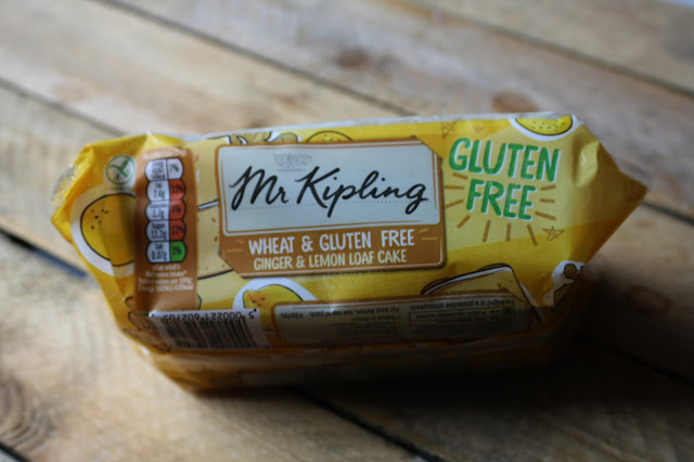 Mr Kipling Wheat and Gluten Free Ginger and Lemon Loaf Cake on Anyonita-Nibbles