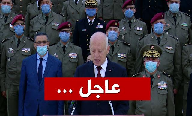 kais saied قيس سعيد يدعو لحوار وطني الايام القليلة القادمة