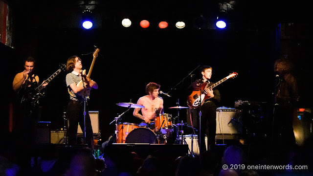 Pottery at Lee's Palace on June 15, 2019 for NXNE Photo by John Ordean at One In Ten Words oneintenwords.com toronto indie alternative live music blog concert photography pictures photos nikon d750 camera yyz photographer