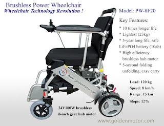 Golden Motor Wheelchair