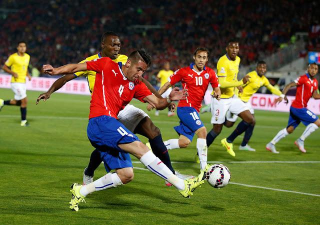 Chile y Ecuador en Copa América 2015, 11 de junio