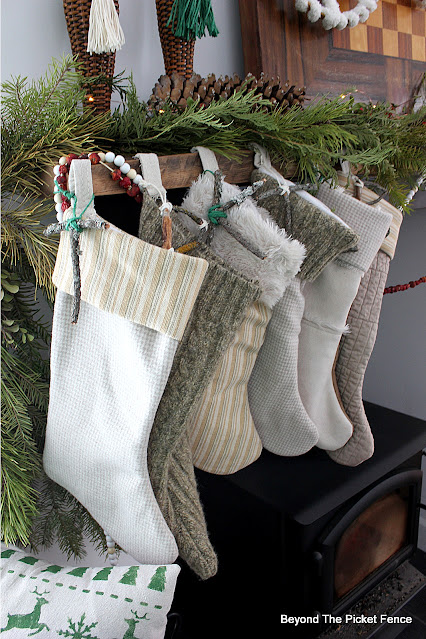 Make Stockings From Thrift Store Items