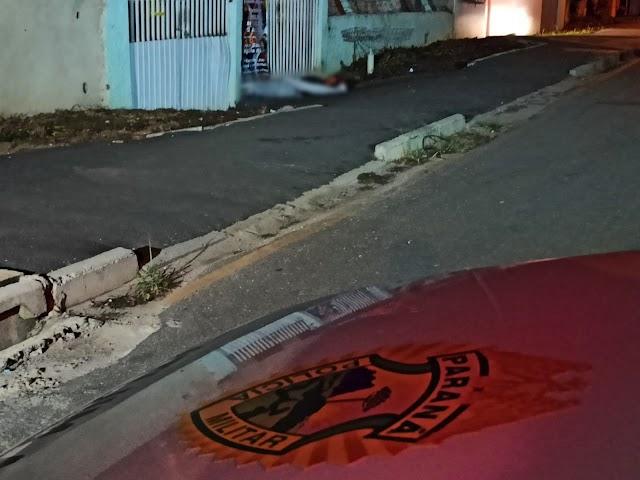 Mulher é executado com tiro na nuca no Guaraituba em Colombo