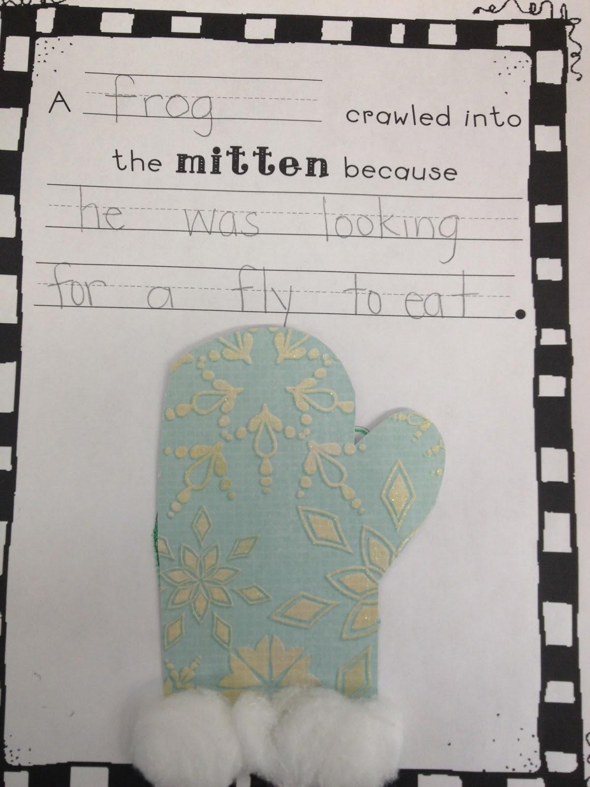 What The Teacher Wants The Mitten