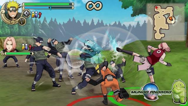 Jugabilidad de Naruto Shippuden: Ultimate Ninja Impact