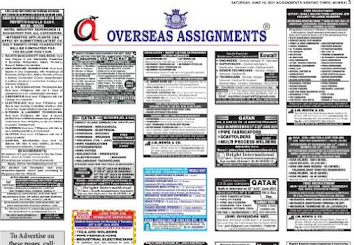 Assignments Abroad Jobs~19 June