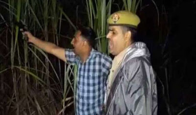 Uttar Pradesh Sub Inspector Manoj Kumar Injured