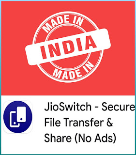 JioSwitch File Transfer & Share app download 2020