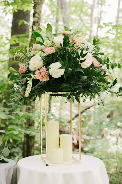 Wedding decor-centerpieces-bottles-KMich Weddings and Events-Philadelphia PA