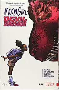Click here to purchase Moon Girl and Devil Dinosaur Vol. 1: BFF at Amazon!