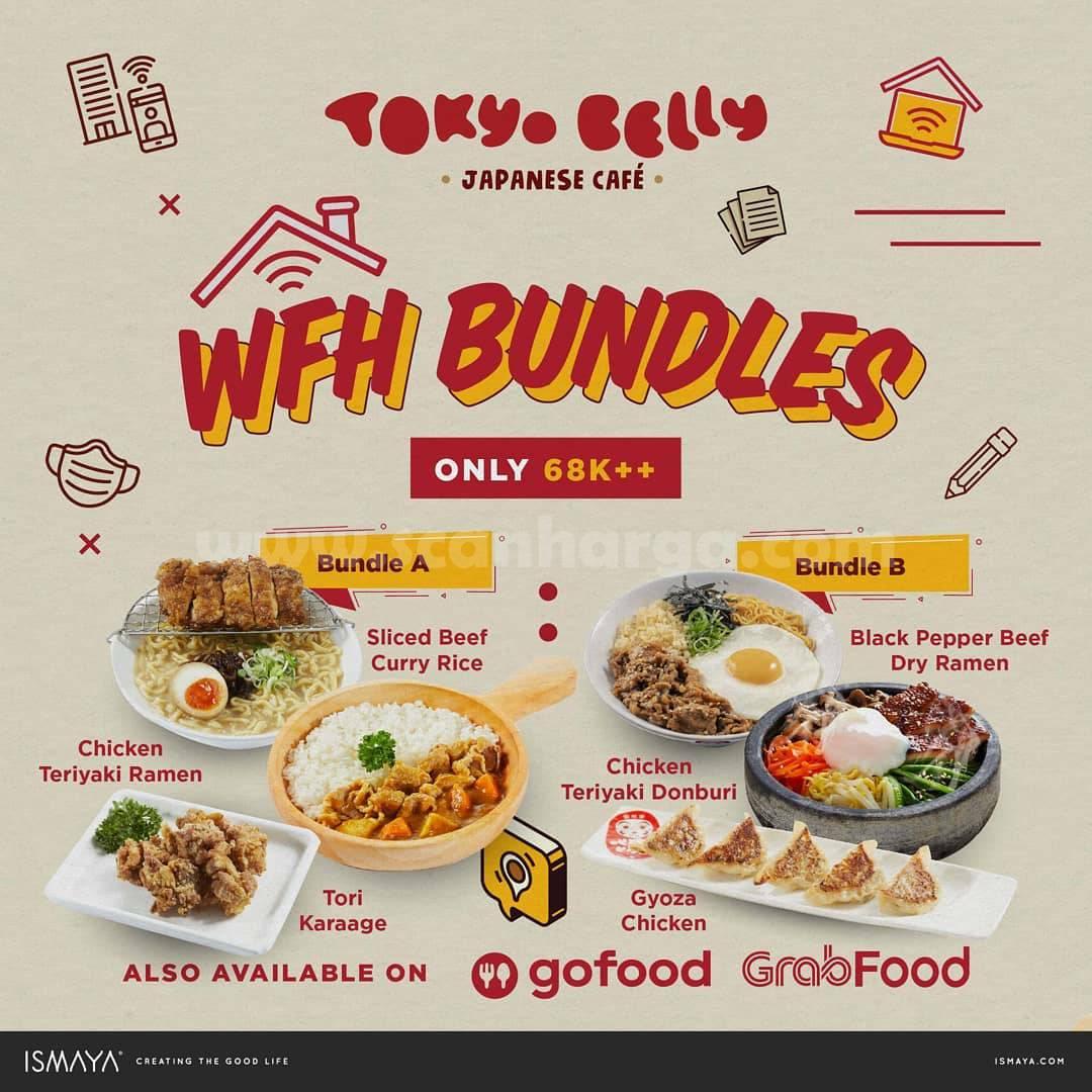 TOKYO BELLY Paket WFH BUNDLES! HARGA mulai Rp 68K++