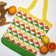 Bolso Citrus a Crochet
