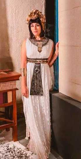 Samia Abreu em Gênesis