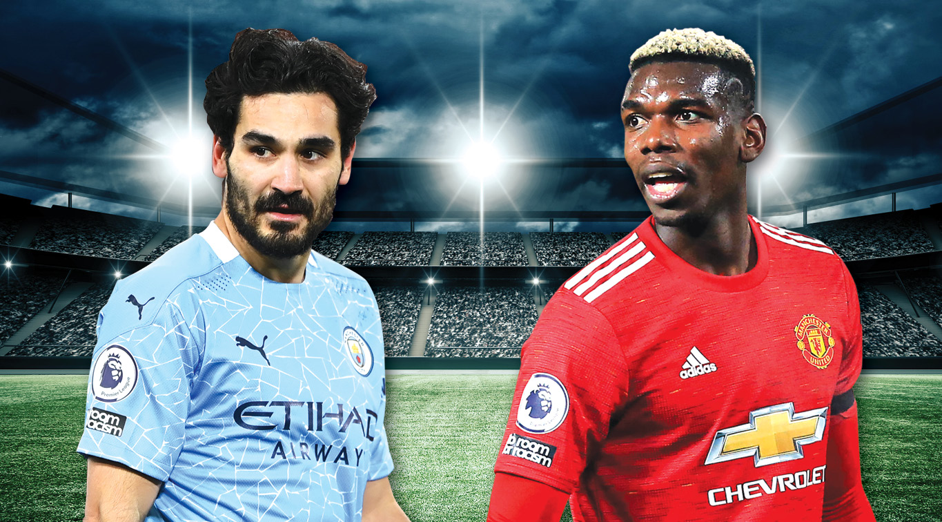 The 183th Manchester Derby highlights this week's English Premier League action