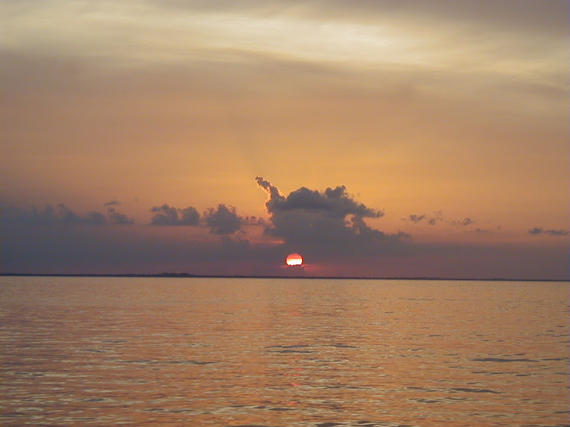 sunset riviera maya