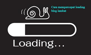 Meringankan Loading Blog